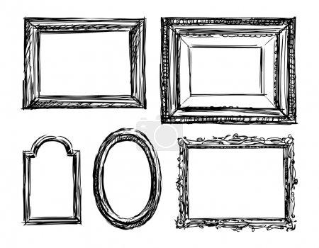 Drawn frame