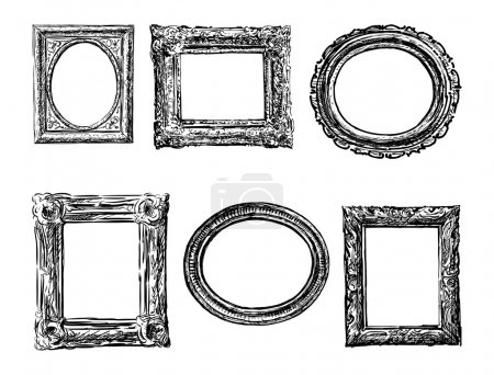 Vintage drawn frames