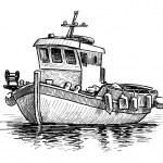 Greek fishing boat...