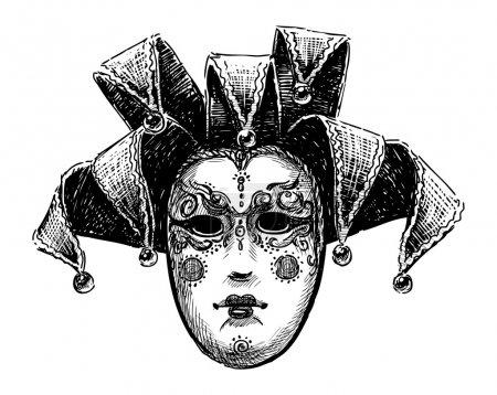 Old venetian mask