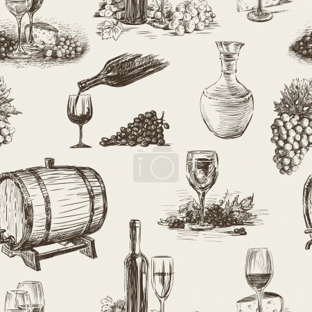 Pattern of wine making