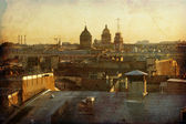 "Постер, картина, фотообои ""старинные фотографии, Санкт-Петербург"""