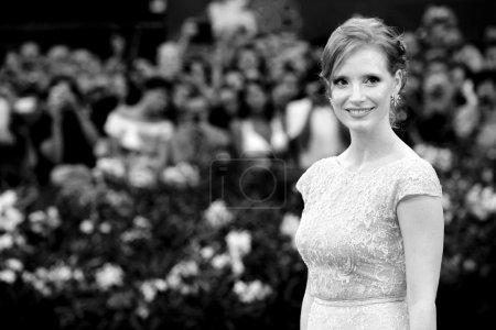 VENICE, ITALY - SEPTEMBER 04: Actress Jessica Chas...
