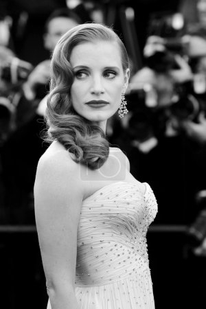 CANNES, FRANCE - MAY 18 : Actress Jessica Chastain...