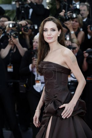 Photo for Angelina Jolie attends The Tree Of Life Premiere during the 64th Cannes Film Festival on May 16, 2011 in Cannes, France. - Royalty Free Image