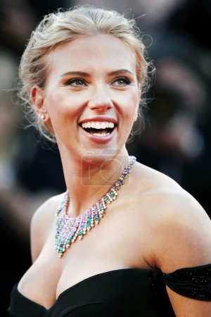 Photo for Actress Scarlett Johansson attends 'Under The Skin' Premiere during the 70th Venice Film Festival on September 3, 2013 in Venice, Italy - Royalty Free Image