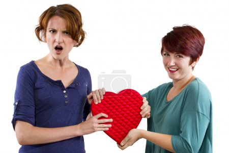 Two friends become rivals on Valentines Day