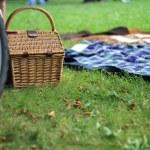Autumn picnic outdoors...