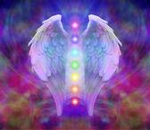 Andělská křídla a sedmi čaker