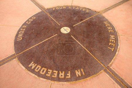das Denkmal der vier Ecken
