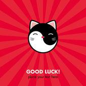 Lucky Cat card