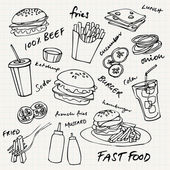 Set di fast food