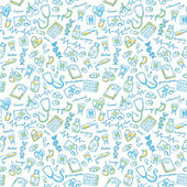 Medical icons pattern
