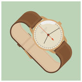 Watch with classic design