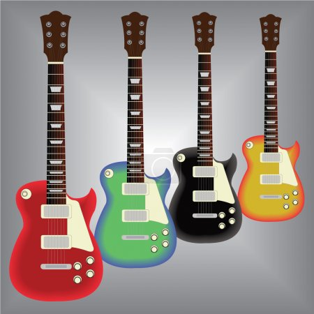 Electric guitars...