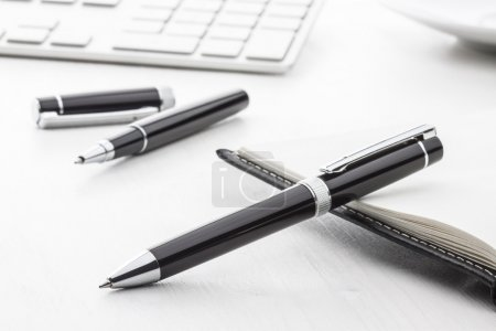 Black ball pen and roller pen