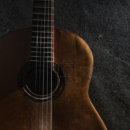 Guitar still life
