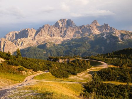Dolomites Group Cristallo
