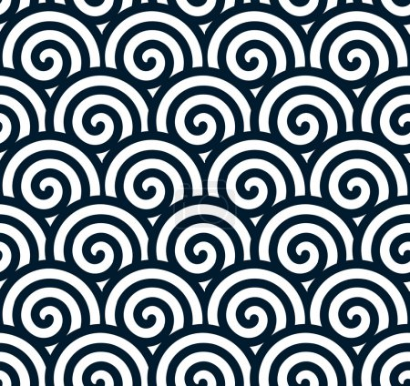 Swirling vector background