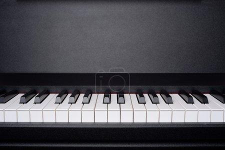 Photo pour Image de fond du clavier de piano - image libre de droit