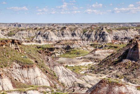 The Canadian Badlands of Drumheller, Alberta