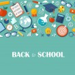 Back to school flat illustration. eps10