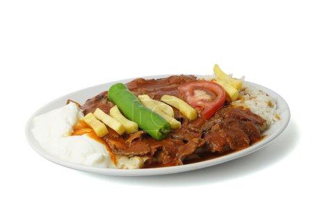 Turkish İskender Donner Kebab - İskender Kebap