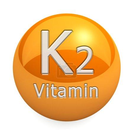Photo pour Vitamine isolée sur fond blanc - image libre de droit