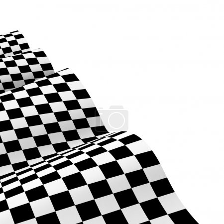 Racing flags. Background checkered flag Formula one