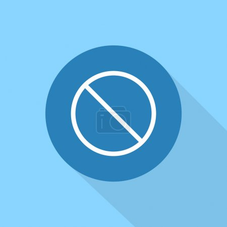 Not Allowed Sign icon