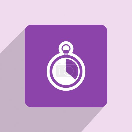 Stopwatch icon design