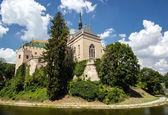 Fenséges öreg vár, Bojnice, Szlovákia