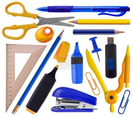 Office or school supplies set