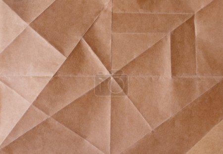 Photo pour Texture de feuille de papier brun pittoresque - image libre de droit