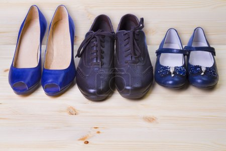 Three pair of shoes