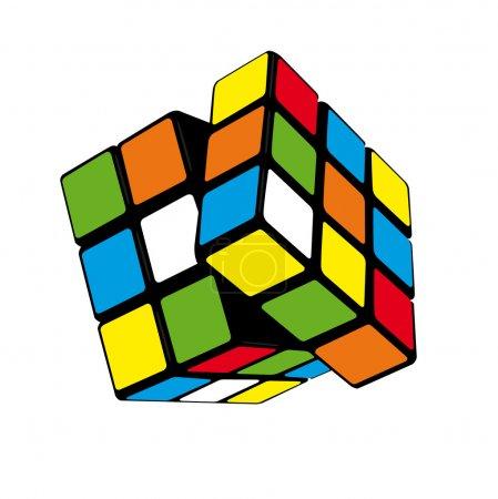 Color rubik's cube