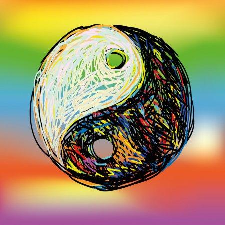 Ying yang symbol.