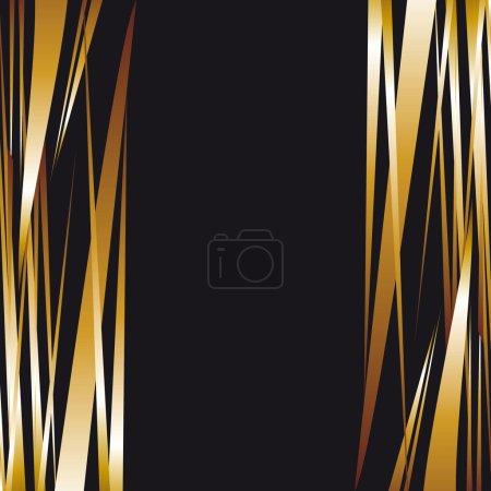 Dark gold metal background. Luxury background