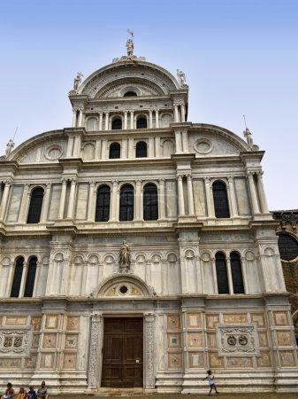 Baroque Church in Quiet part of Venice Italy