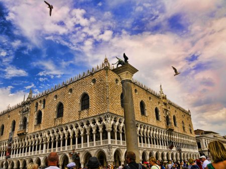 The Piazzetta in Venice in Northern Italy