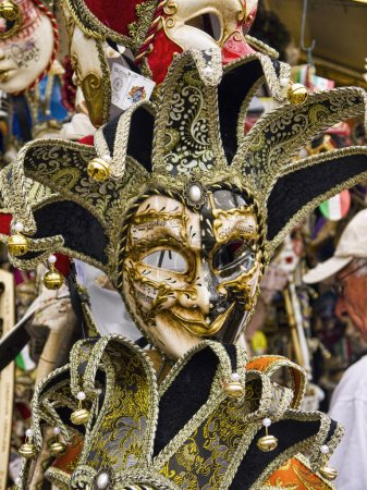 Carnival Masks in Venice known as La Serenissima in Northern Italy is a magical place