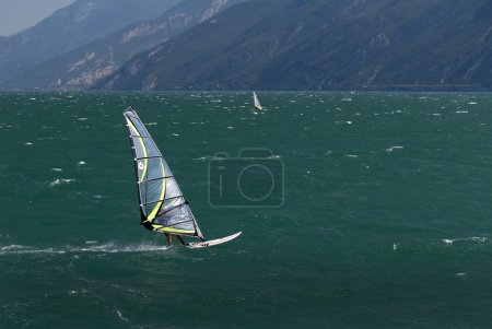 The Waters of Lake Garda and views of the lovely towns