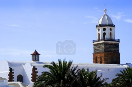 Teguise on the island of Lanzarote in the Canary Islands