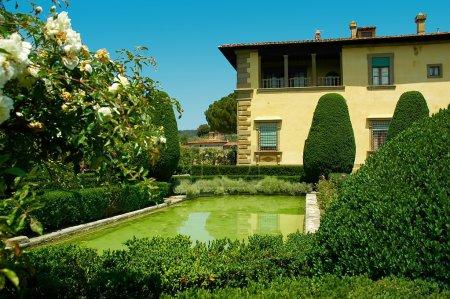 Beautiful Villa and Gardens overlooking Florence at Settignano Tuscany