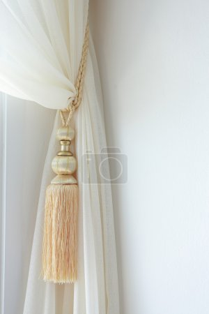 Curtains tassel for interior luxury house
