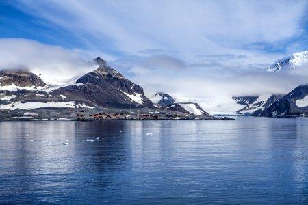 Estación base de investigación Antártida
