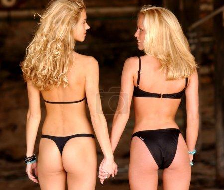 Best Friends - Double Blondes  - Double Bikinis