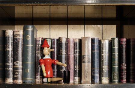 Photo pour Bibliothèque particulière - image libre de droit