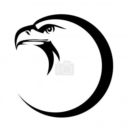 Eagle head emblem