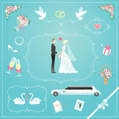 Wedding elements set for your design